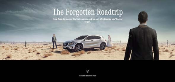 Mercedes-Benz GLA  The Forgotten Roadtrip