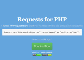 کتابخانه ی Requests for php