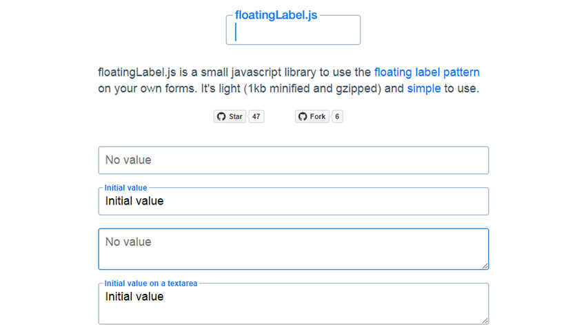 floatingLabel.js